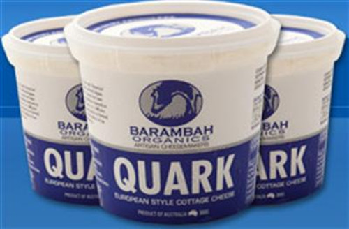 Quark Cottage Cheese Organic 370g - Barambah