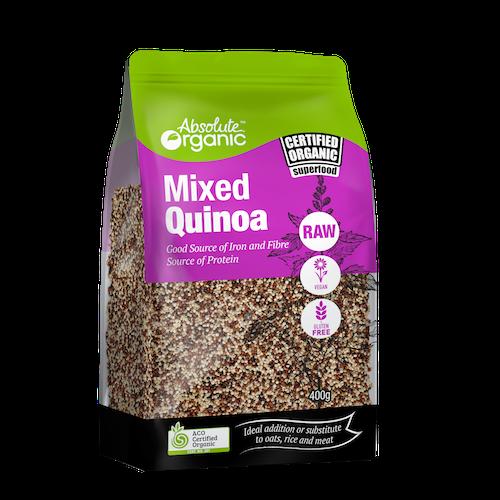 Quinoa Mixed Organic 400g - Absolute Organic