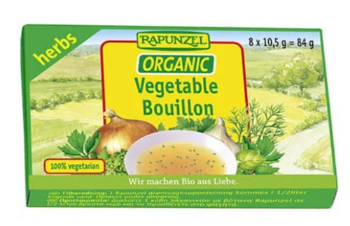Vegetable Bouillon Cubes (with Herbs) Organic 84g - Rapunzel