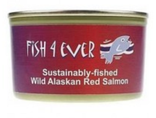 Salmon Red Wild Pacific - Fish 4 Ever 213g