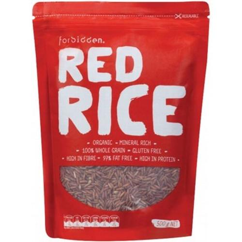 Red Rice Organic 500g - Forbidden Foods