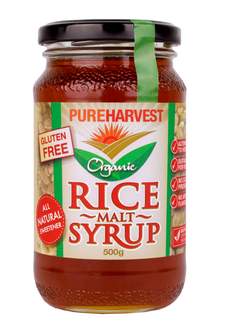 Rice Malt Syrup Organic 500g - Pure Harvest
