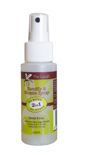 Sandfly & Mozzie Stuff Insect Repellent Spray 50ml - The Locals