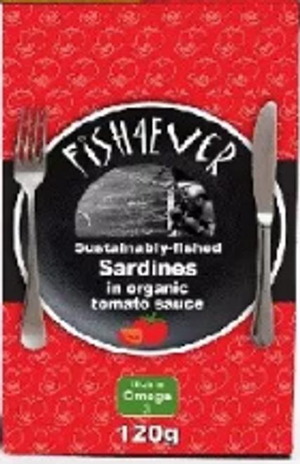 Sardines In Tomato Sauce 135g - Fish 4 Ever
