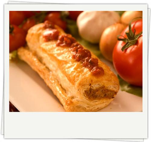 Sausage Roll Organic Frozen - Byron Gourmet