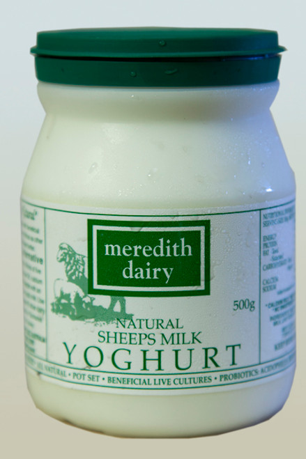 Sheeps Yoghurt Organic 500g - Meredith *Please Pre-order to ensure supply