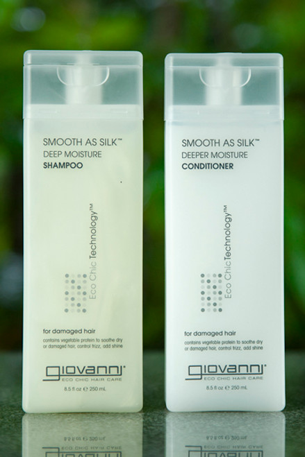 Smooth As Silk Conditioner 250ml - Giovanni
