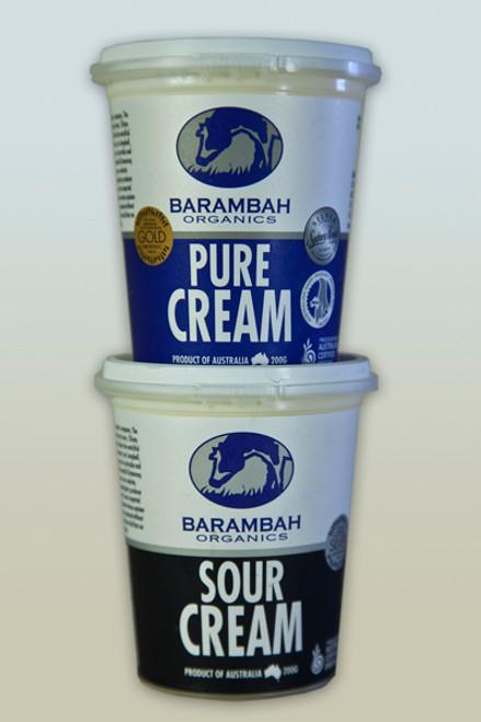 Cream Sour Organic 200g - Barambah