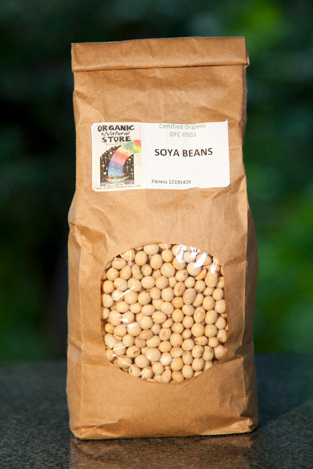 Soy Beans Organic 500g - ONS