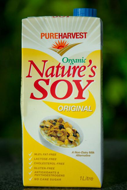 Soy Milk Organic 1L- Pure Harvest 1L
