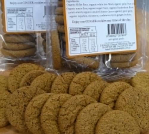 Ginger Gluten Free Cookies Organic 200g - Britts Organic