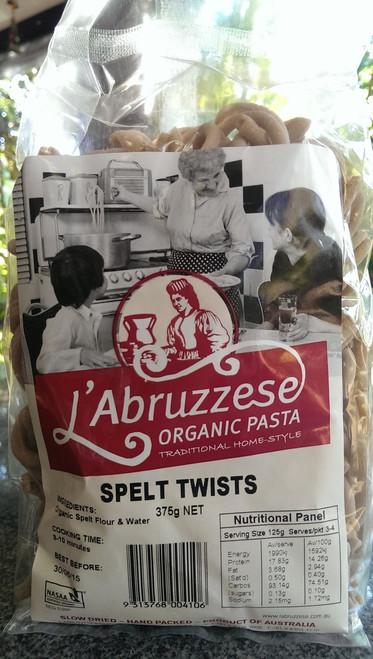 Spelt Twists 250g - L'Abruzzese