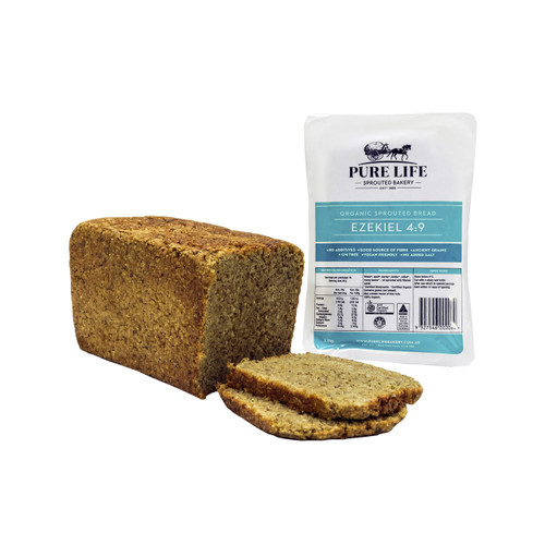 Sprouted Bread Ezekiel Biodynamic Organic 1.1kg - Pure Life *Pre-order to ensure Supply