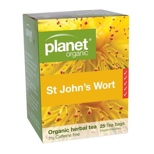 St Johns Wort Organic Tea 25 Bags - Planet Organic