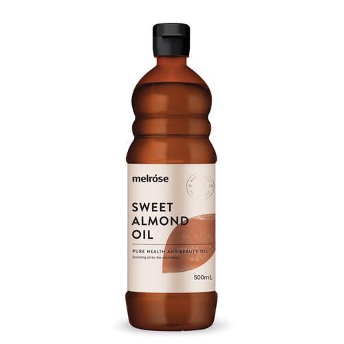 Sweet Almond Oil 500ml - Melrose
