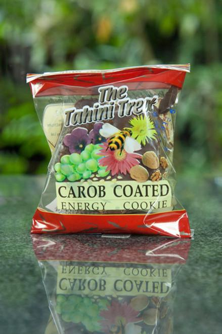 Tahini Treat Carob Coated Ultimate Energy Cookie - Melissa Confectionery