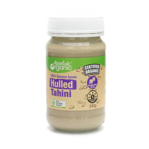 Tahini Hulled Organic 340g - Absolute Organic