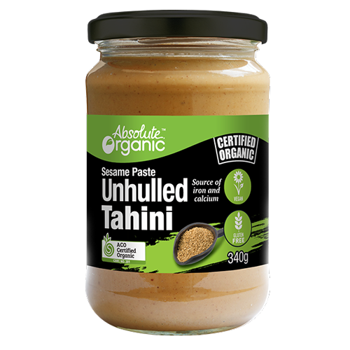 Tahini Unhulled 340g - Absolute Organic