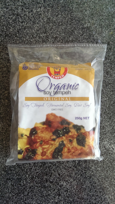 Tempeh Original Organic 250g- Mighty Bean