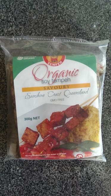 Tempeh Savoury Organic 300g - Mighty Bean