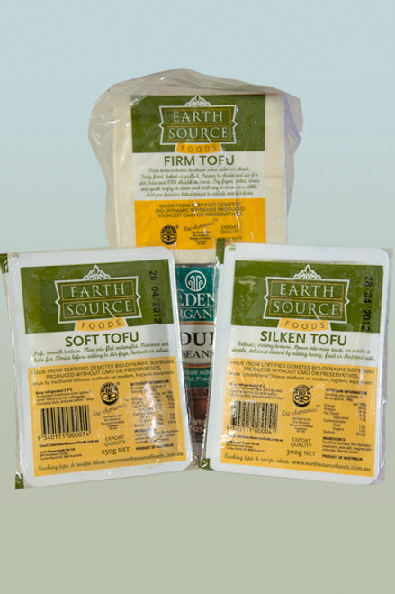 Tofu Firm Organic 375g - Delisoy/Earth Source
