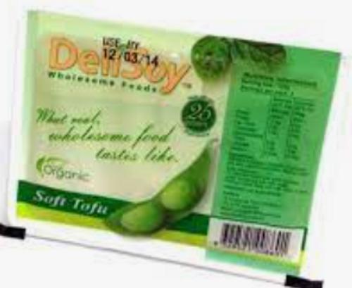 Tofu Soft Organic 250g - Delisoy *pre-order to ensure supply