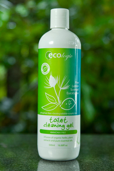 Toilet Cleaning Gel Pine & Lemon Scented Eucalyptus - Ecologic 500ml