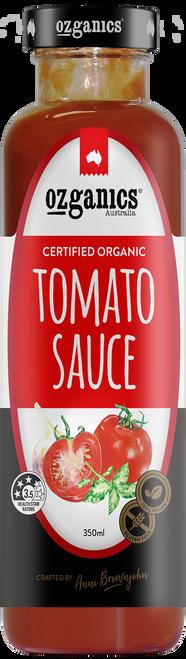 Tomato Sauce Organic 350ml - Ozganics
