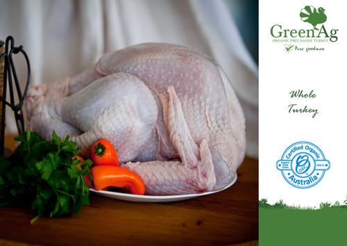 Turkey Whole Gourmet Supreme Organic 3.5kg  - GreenAg ORDER ONLY