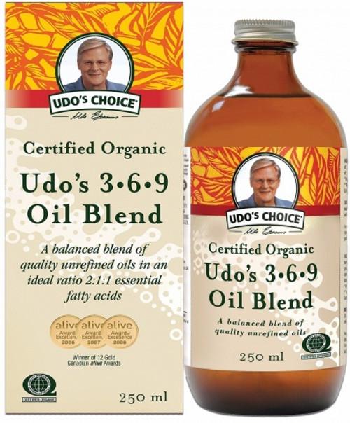 Udo's 3.6.9 Oil Organic 250ml - Udo's
