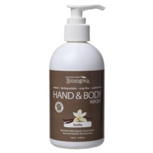 Hand & Body Wash Vanilla  - Biologika 250ml
