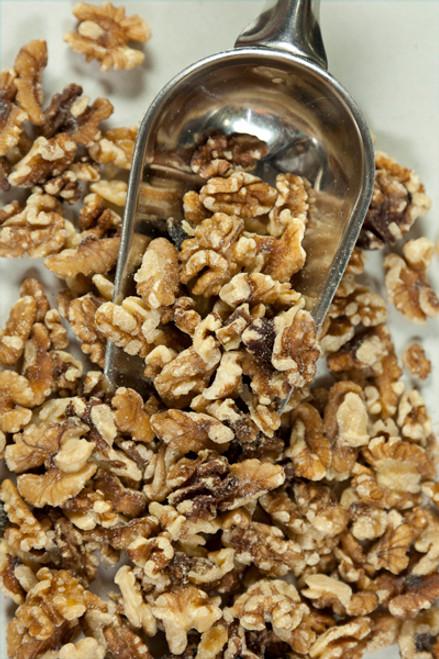 Walnuts Pieces Organic Bulk per 100g - ONS