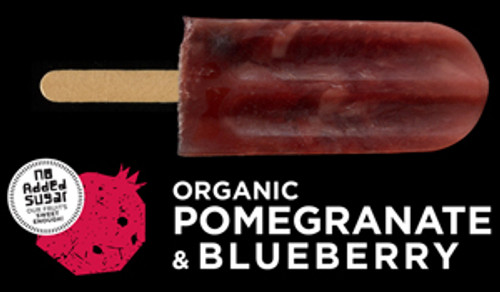 Ice Block Organic Pomegranate & Blueberry - Flyin Fox