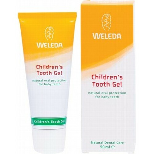 Toothpaste Childrens Tooth Gel 50ml - Weleda