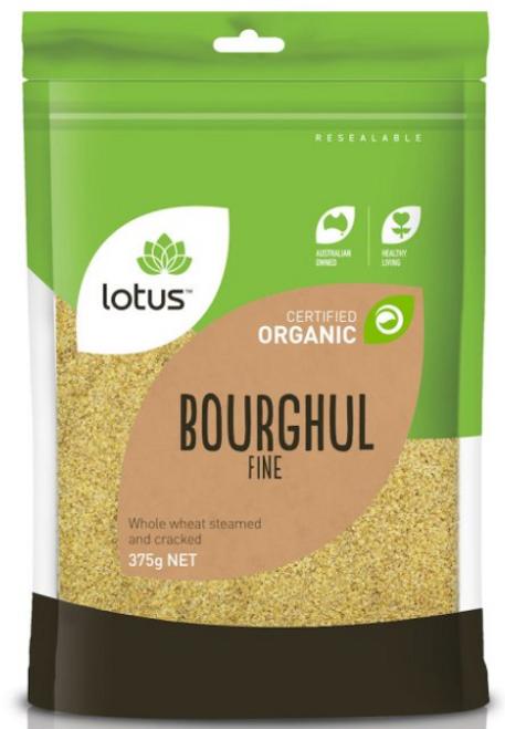 Bourghal (Wheat) Fine Organic 375g - Lotus