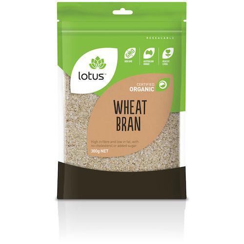 Wheat Bran Organic 300g - Lotus
