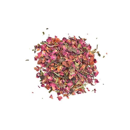 White, Rose & Goji Tea Loose Leaf Organic 50g - Love Tea