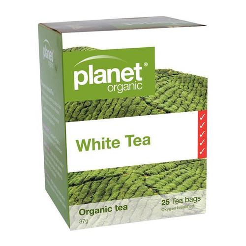 White Tea 25 Bags - Planet Organic