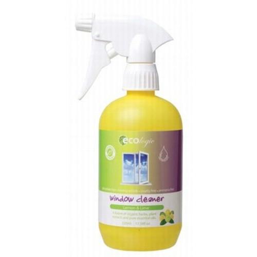 Glass & Window Cleaner Lemon Lime 520ml - Ecologic