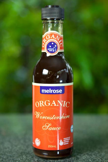 Worcestershire Sauce Organic 250ml - Melrose