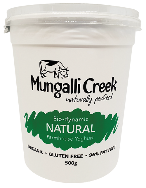 Yoghurt Farmhouse Natural Organic 500g - Mungalli