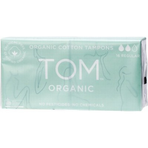 Tampons Organic Regular x 16 - Tom