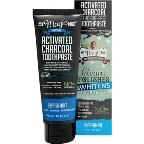 Toothpaste Whitening Peppermint 113g - My Magic Mud