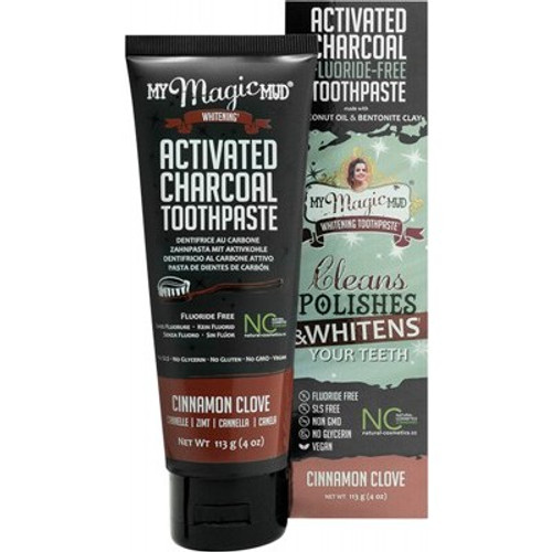 Toothpaste Whitening Cinnamon Clove 113g - My Magic Mud