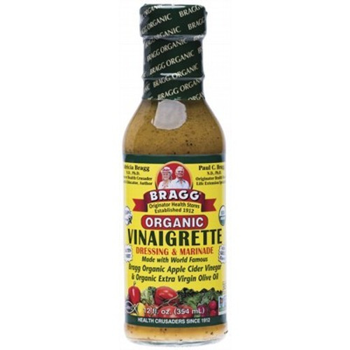Salad Dressing & Marinade Vinaigrette Organic 354ml - Bragg