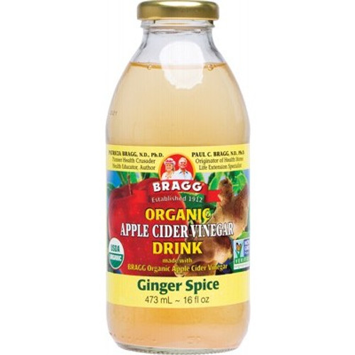 Apple Cider Vinegar Ginger Spice Drink 473ml - Bragg