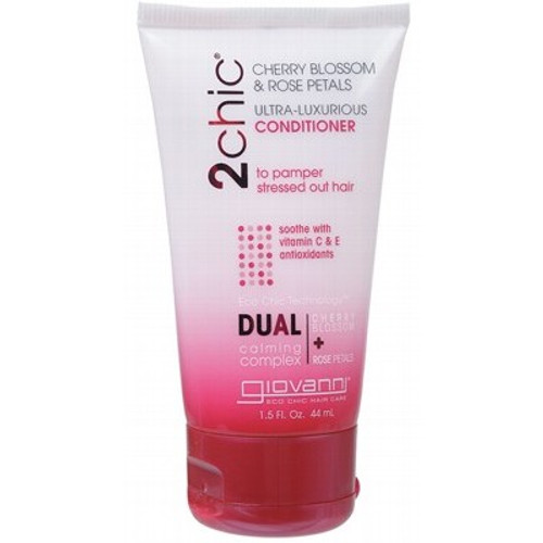 Cherry Blossom & Rose Petals Ultra-Luxurious Conditioner 44ml Travel Size - 2 Chic