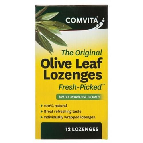 Olive Leaf Lozenges with Manuka Honey 12 - Comvita
