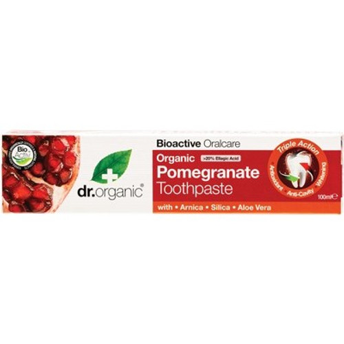Toothpaste Pomegranate 100ml - Dr Organic