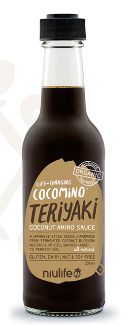 Coconut Amino Teriyaki Sauce 250ml - Niulife